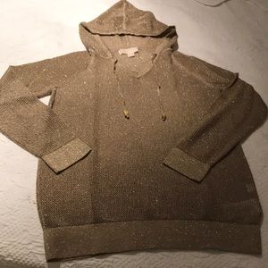 Sparkling Michael Kors hoodie sweater.🌟